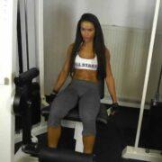 Pharmasports Training zu Hause Frauen Sexy Bein Training Workout