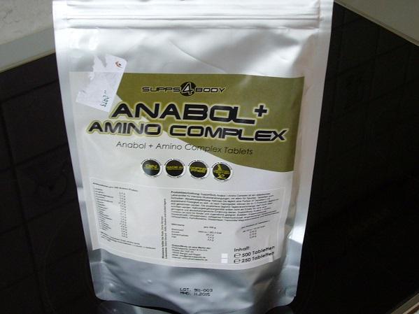 Anabolic + Amino Complex