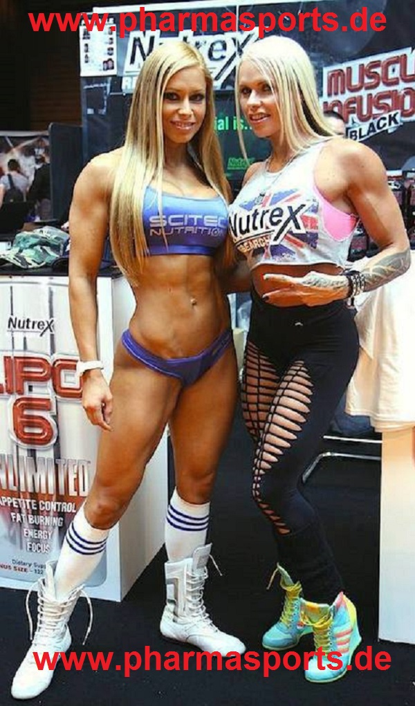 Zsuzsanna Toldi und Larissa Reis Fitness Models Nutrex und Scitec Nutrition