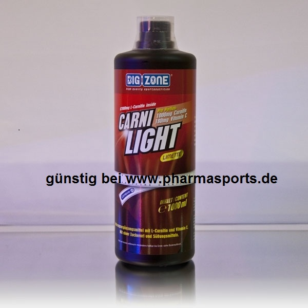Big Zone Carni Light flüssiges L-Carnitin bei euren Muskelaufbau – Bodybuilding Shop Pharmasports