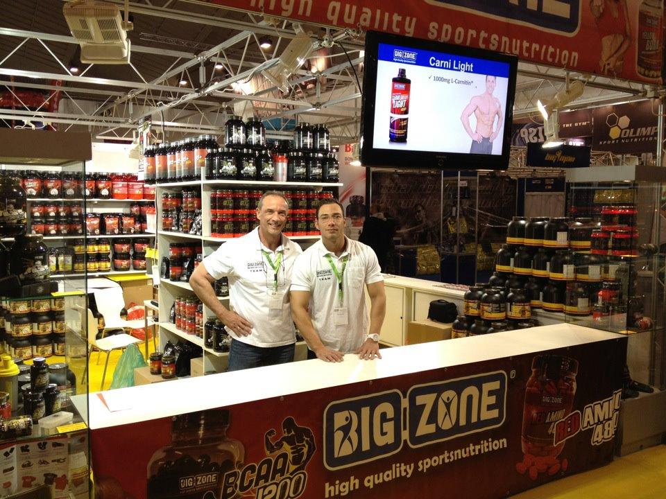 Firma Big-Zone auf der Fibo 2012
