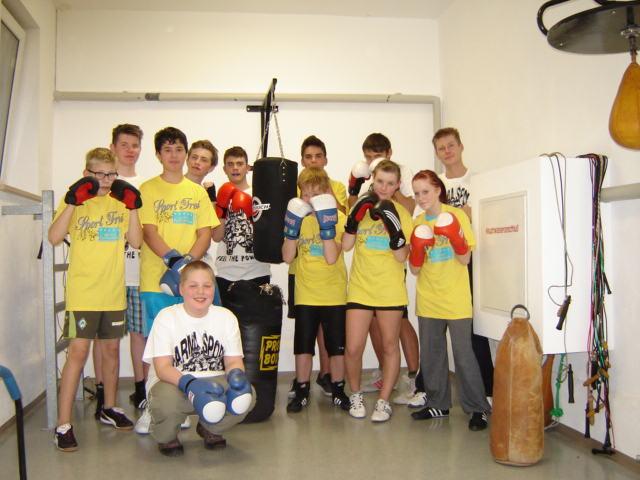Sport Frei für PSV-Bergen Sektion Boxen Jugend