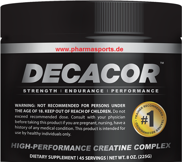 Decacor Creatine 225g Dose