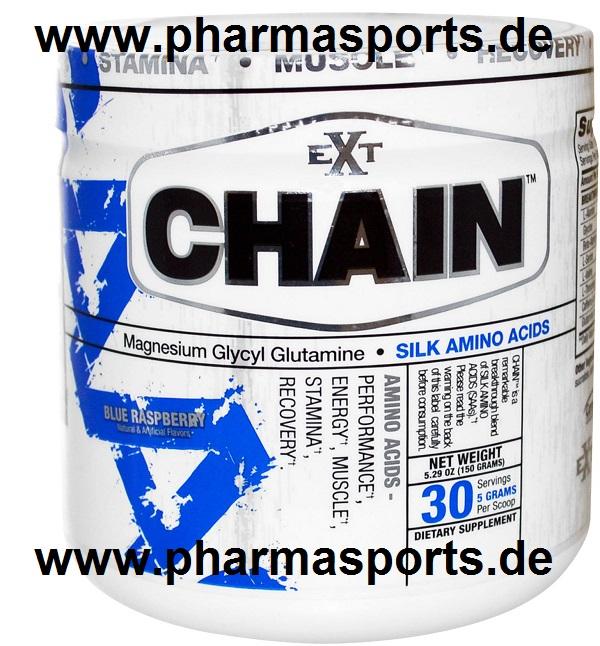 EXT Sports Chain Amino Acid Silk Amino Acids (SAA) Seiden Aminosäuren