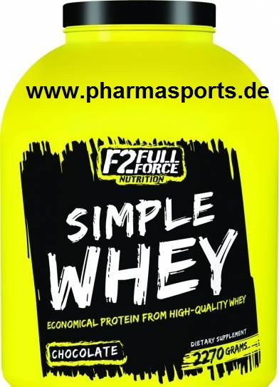 FULL FORCE WHEY Protein im Muskelaufbau Bodybuilding Shop