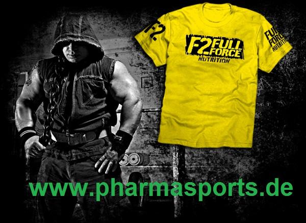 F2 Full Force Nutrition Shirts im Bodybuilding Shop von Pharmasports