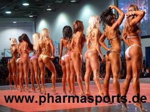 FIBO PRO 2011 Fitness Women - Bikini Ramona Valerie Alb -  Valeria Ammirato - Sandra Ott