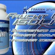 Pharmasports Frucht Whey Isolat in 14 Tagen erhältlich!