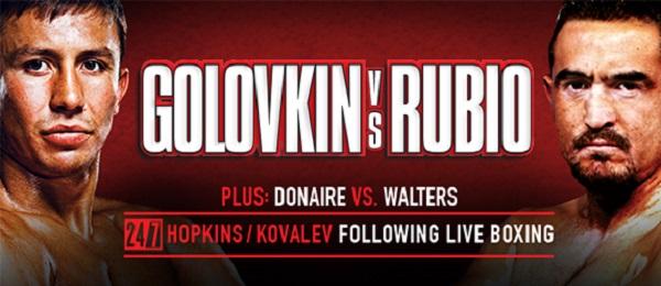 Boxen Monster Golovkin gegen Rubio Ko Sieg 2 Runde