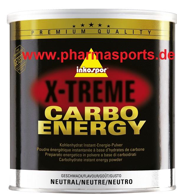 Inkospor X-Treme Carbo Energy Kohlenhydrat Maltodextrin Getränk