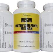MSM - Natürlicher Wirkstoff für Ihre Gesundheit