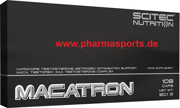 MACATRON Testosteron Booster der Firma Scitec