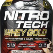 MuscleTech Nitro-Tech Whey Protein Isolate & Peptides Günstig