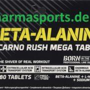 Olimp Beta-Alanine Carno Rush XXX Kapseln Beta-alanin