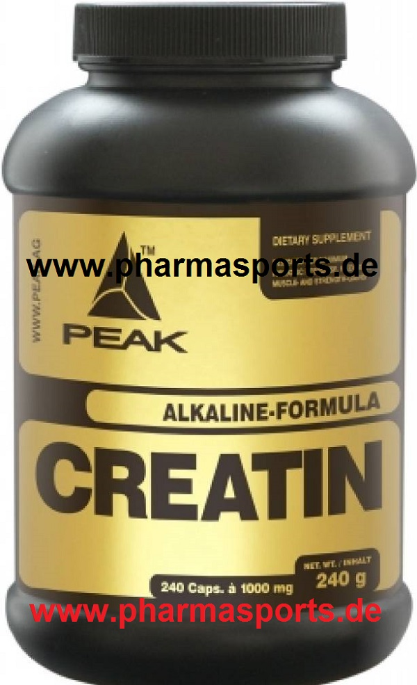 Peak Creatin Alkalyn zu Probe bei Pharmasports