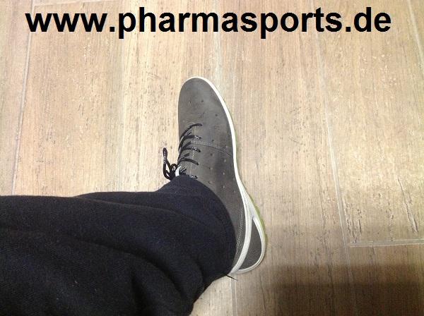 Pharmasports Fitness Sport Schuh Test Ecco BIOM LITE – Sneaker