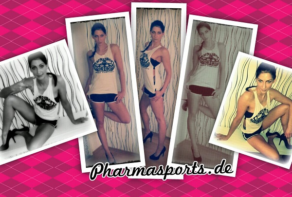 Jenny Fitness Training Pharmasports Sexy Sportlerin