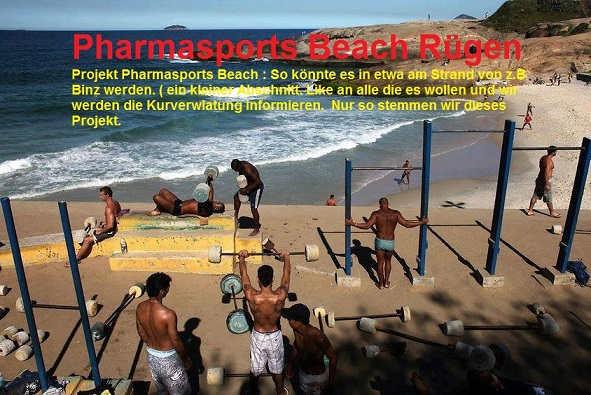 Pharmasports Beach Rügen – Training am Strand – Kraftsport – Bodybuilding – Boxen – MMA am Strand