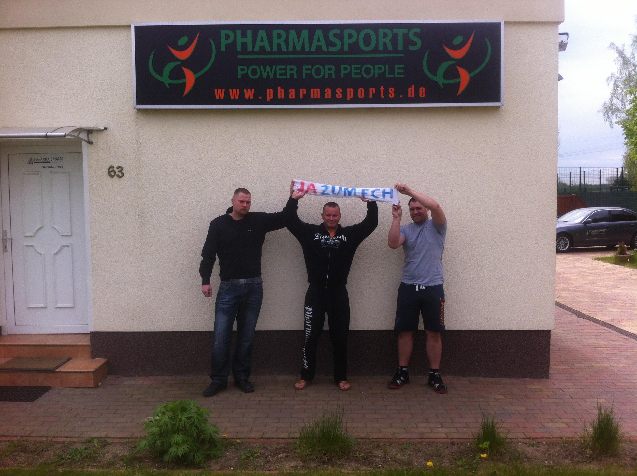 Pharmasports sagt Ja zum F.C.H  Hansa Rostock