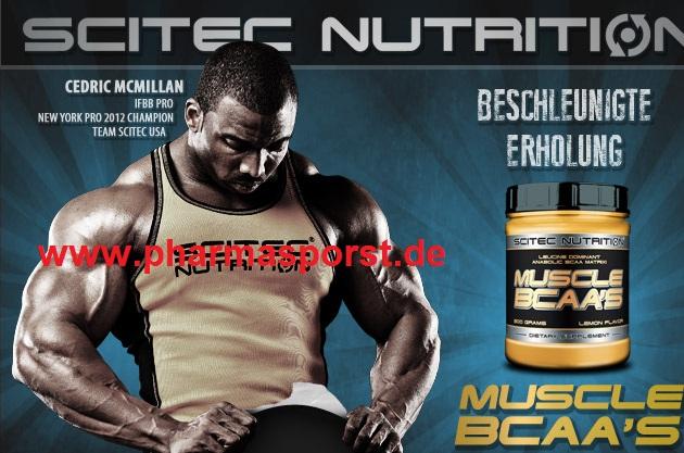 Scitec Nutrition Muscle Bcaas mit mehr Leucin