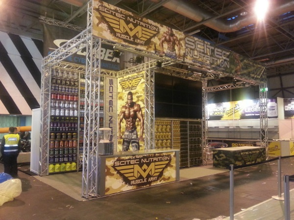 Scitec Nutrition auf der BODYPOWER Expo in Birmingham