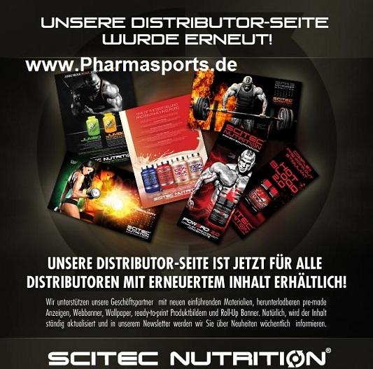 Scitec Nutrition mit neuer Händler Seite: Testopump Big Bang auch Protein Vital nicht mehr im Angebot.