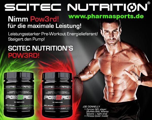 Neues Produkt von Scitec Nutrition Pow3rd bei Pharmasports!