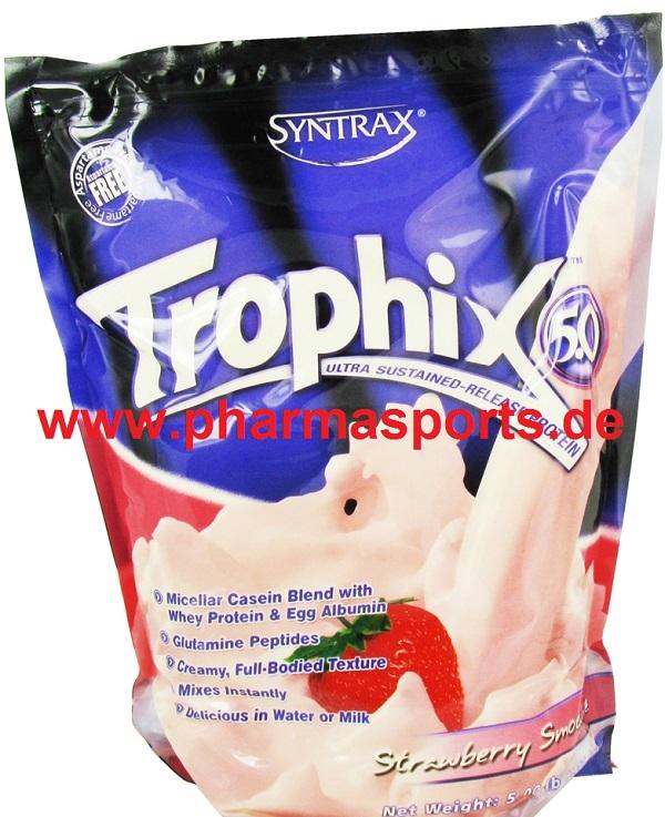 Syntrax Trophix 5.0 Protein in Schoko wieder da