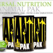 Universal Nutrition Animal Pak - eines der bekanntesten Supplemente nun auch bei Pharmasports