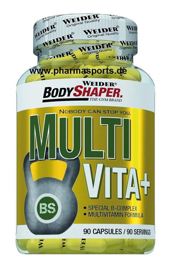 Weider Multi Vita + Spezial B Komplex im Pharmasports Store