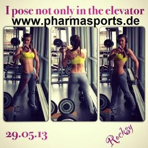 Xenia Minnich – Fitnesstrainerin - Bodybuilding - Fitness Powerfrau