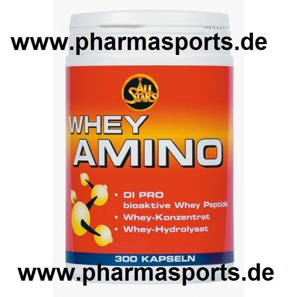 All Stars – Whey Amino wieder im Bodybuilding Fitness Shop Pharmasports