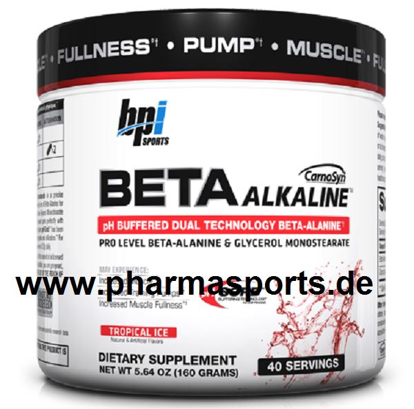 BPI Sports - BETA ALKALINE ein Ph Neutrales Beta-alanin