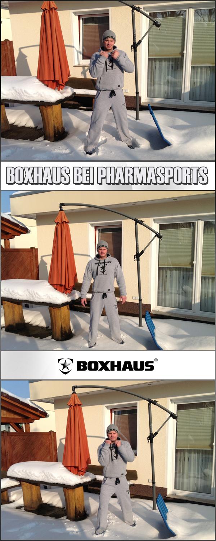 Boxhaus Sportswear natürlich auch bei Pharmasports