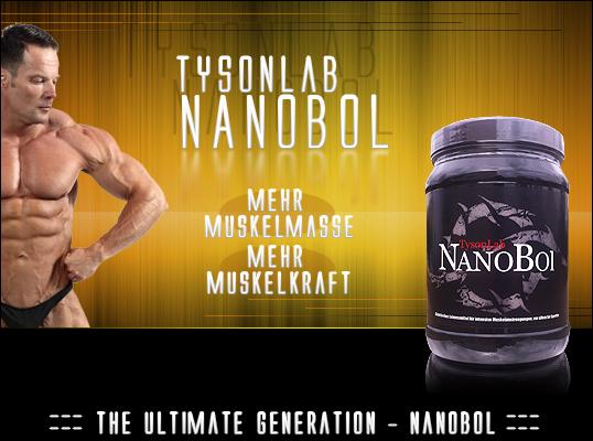 TysonLab NanoBol für mehr Muskelmasse und Kraft