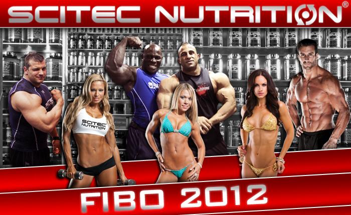 Fibo 2012 Scitec-Nutrition Stand