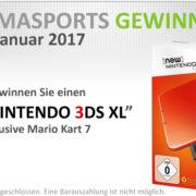 Pharmasports Gewinnspiel Monat Januar 2017