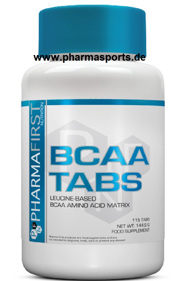 Pharma First BCAA Tabs eine 8,1,1 Formel