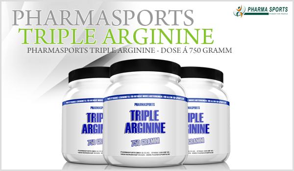 NEU bei Pharmasports - Pharmasports Triple Arginine