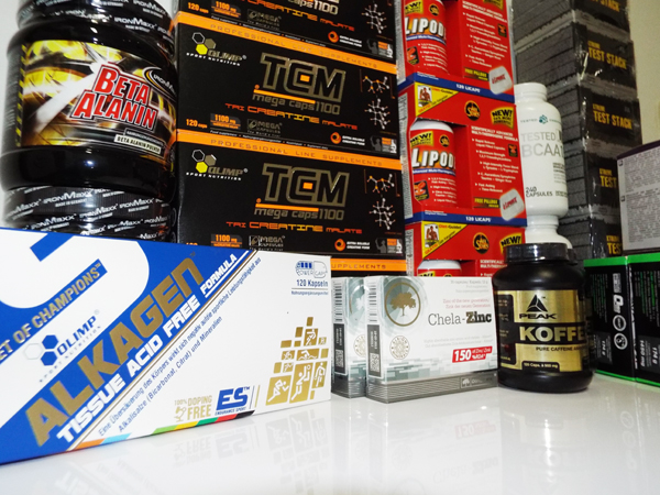 Produkt-Proben für Pharmasports Kunden