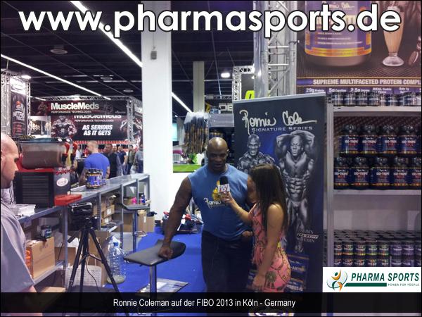 Ronnie Coleman auf der FIBO 2013 in Köln - Pharmasports traf den 7-fachen Mr. Olympia