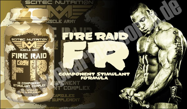 Scitec Nutrition Muscle Army Fire Raid