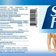 Superflex mit Glucosamin / Chondroitin/ MSM für Knorpel u. Muskeln