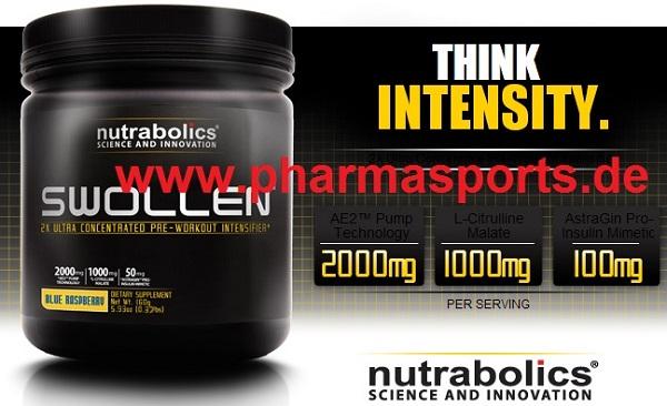 Trainingsbooster der Firma Nutrabolics Swollen ( Bodybuilding Test )