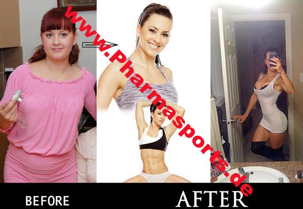 Fitness veränderung von Dick zum Top Model