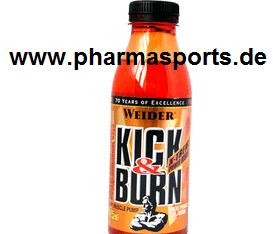 Wichtig Weider Nutrition hat das Produkt Kick & Burn  aus dem Sortiment genommen.