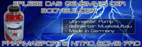 Nitro Bomb Pro der Energy Muscle Blaster