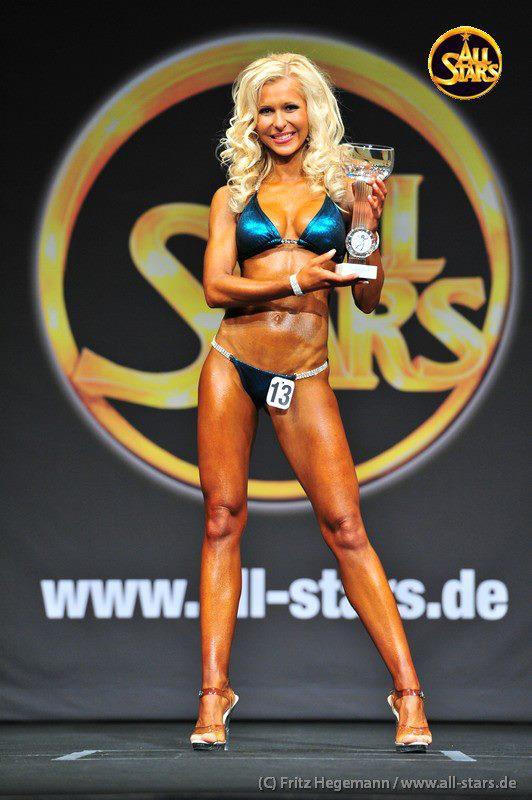 Andrea Hertlein Weltmeisterin Fitness Bikini