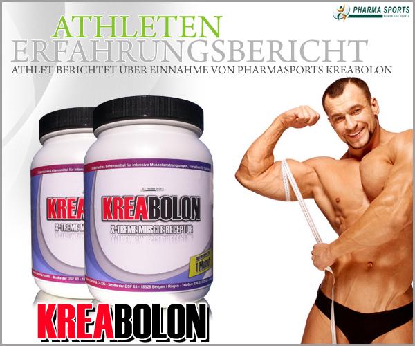 Erfahrungsbericht eines Athleten zu Pharmasports Kreabolon