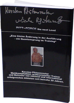 PITT Force Training das Buch mit original Unterschrieft Handsigniert hol ich mir bei Pharmasports.de